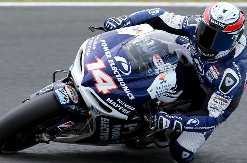 De Puniet, Márquez y McPhee lideran los FP2 del Gran Premio de Valencia