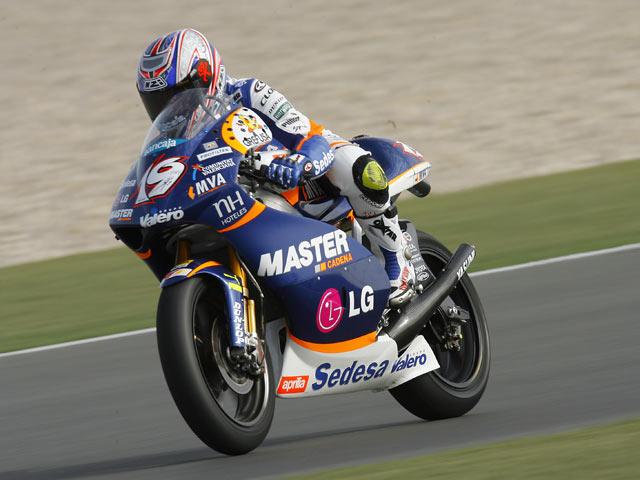 GP España. Parrilla de 250 cc