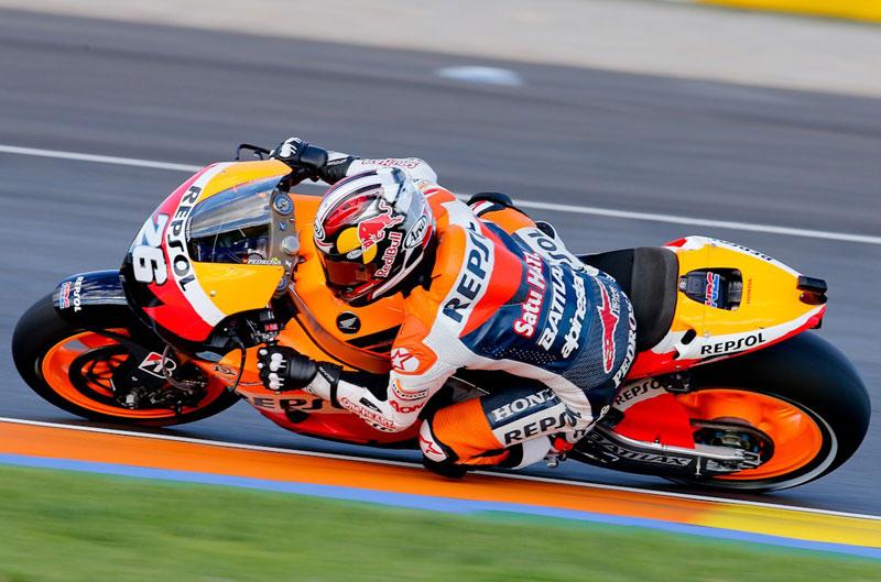 Victoria de Pedrosa en el caótico Gran Premio de Valencia de MotoGP