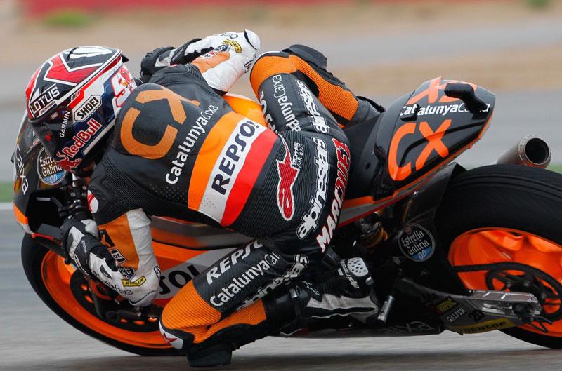 Épica victoria de Marc Márquez en el Gran Premio de Valencia de Moto2