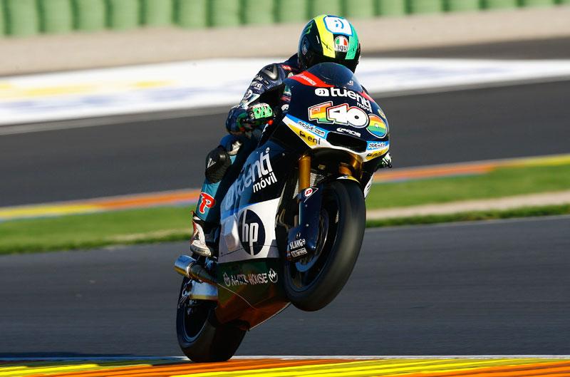 Pol Espargaró, el más rápido en los entrenamientos de Valencia