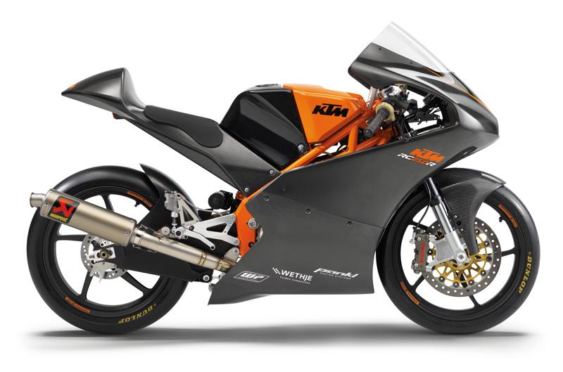 KTM pone a la venta su Moto3 carreras-cliente