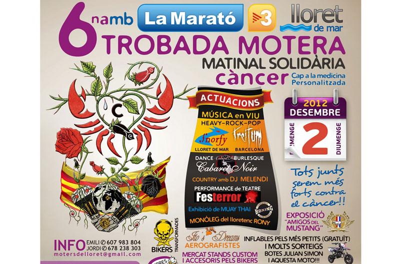 VI Matinal Motera Solidaria por la Maratón de TV3