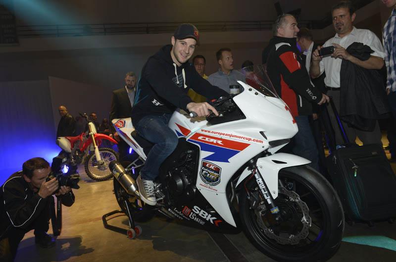 Honda CBR500R Junior European Cup