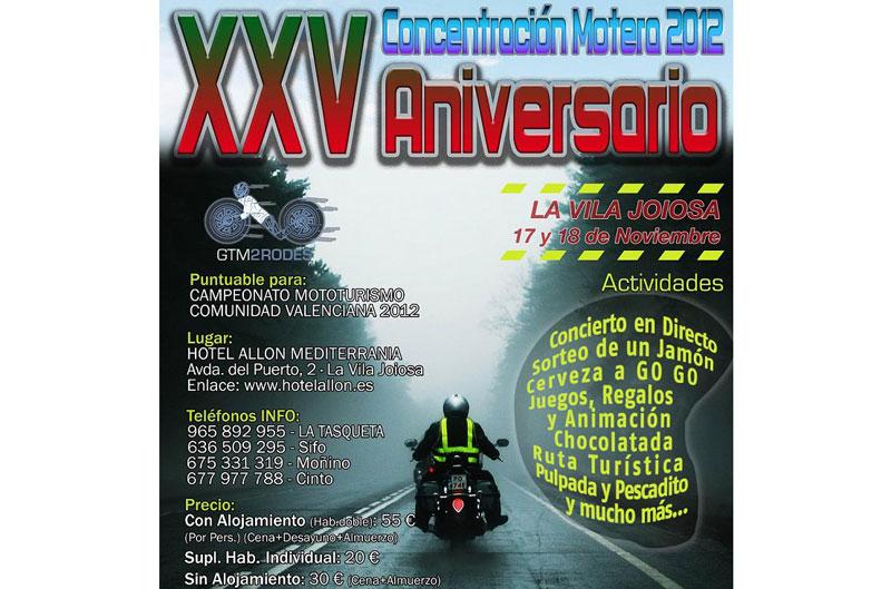 XXV Concentración Motera Villajoyosa