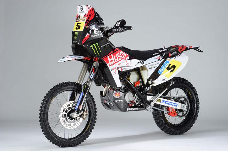 Husqvarna TE449 RR Speedbrain correrá el Rally Dakar 2013