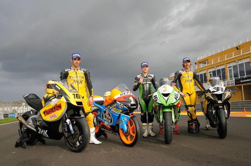 Jordi Torres, campeón de España de Moto2