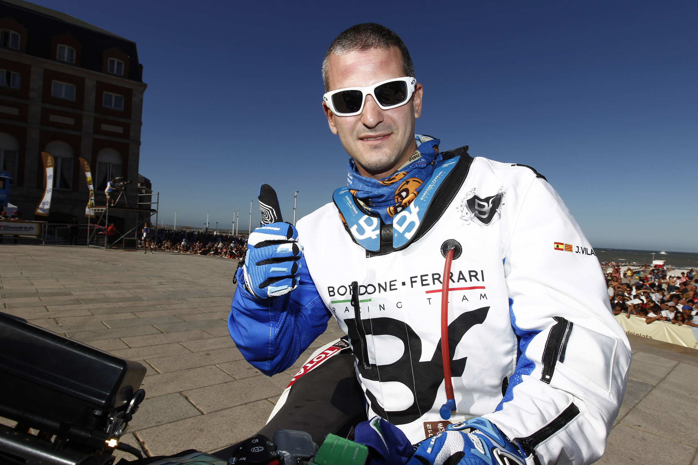 Jordi Viladoms será piloto Husqvarna