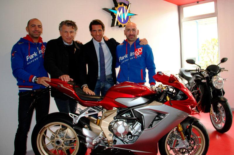 MV Agusta debutará en el Mundial de Supersport