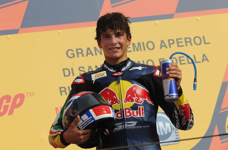 Lorenzo Baldassari debutará en 2013 en Moto3
