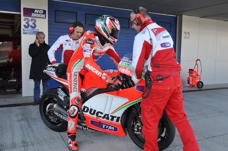 Ducati, Pramac y Avintia entrenan en Jerez