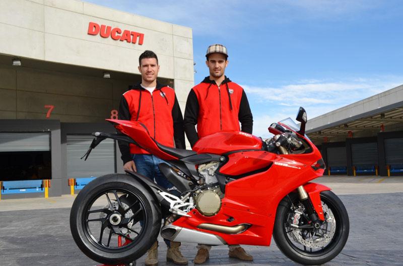 Pompone Scuadra, equipo oficial Ducati Ibérica en el CEV
