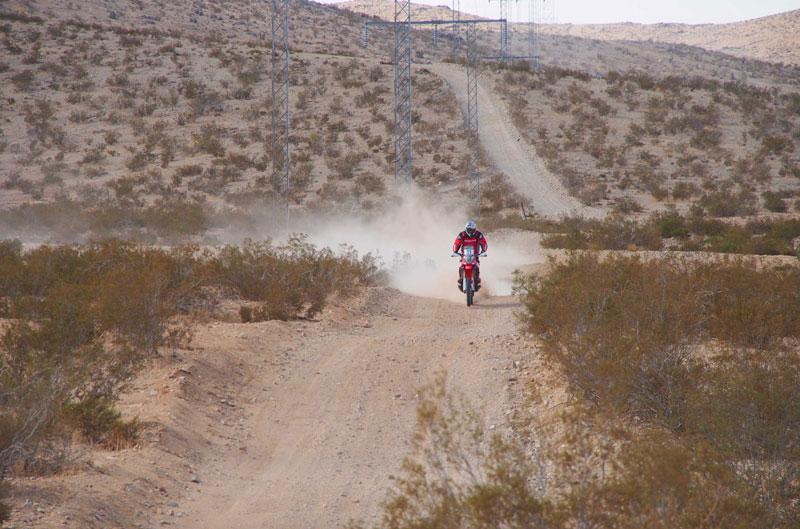 Honda HRC vuelve a la acción antes del Dakar