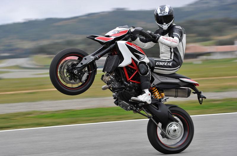 Ducati Hypermotard 2013. Prueba
