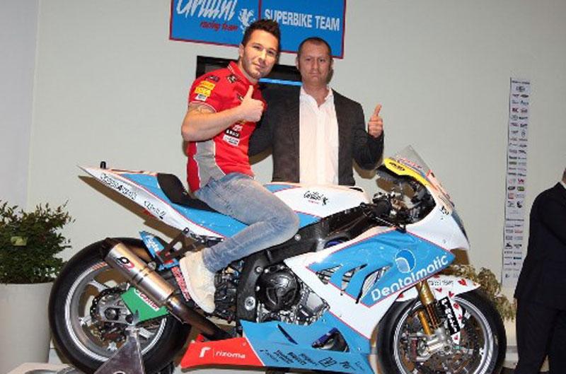 Vittorio Iannuzzo regresa a Superbike con el Team Grillini y BMW