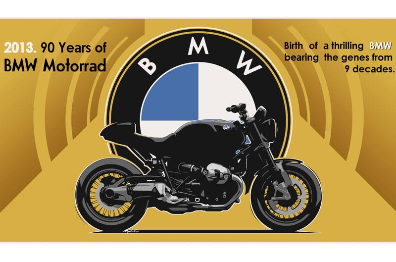 Nueva BMW R 1200 R 90 aniversario