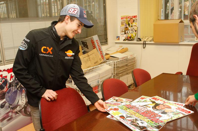 Entrevista a Márquez: Mi favorito siempre ha sido Rossi