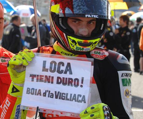 Roberto Locatelli, en coma inducido