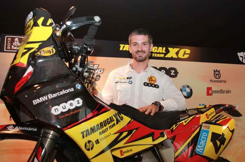 Jordi Viladoms luchará por el podio en el Dakar