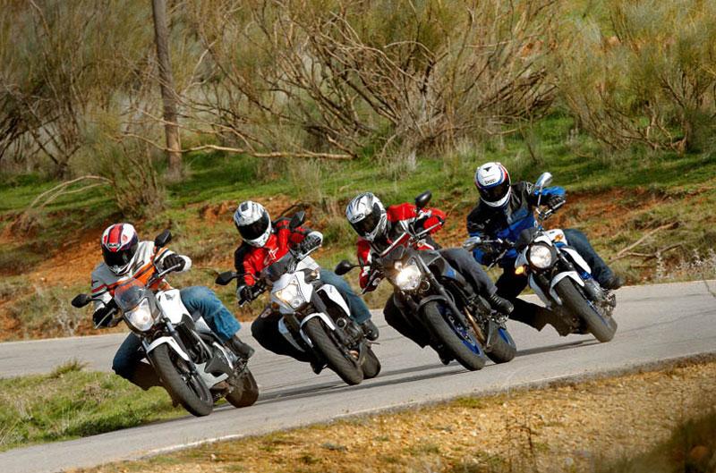 Comparativa Naked: Honda NC700S, Kawasaki ER-6N, Suzuki Gladius 650, Yamaha XJ6