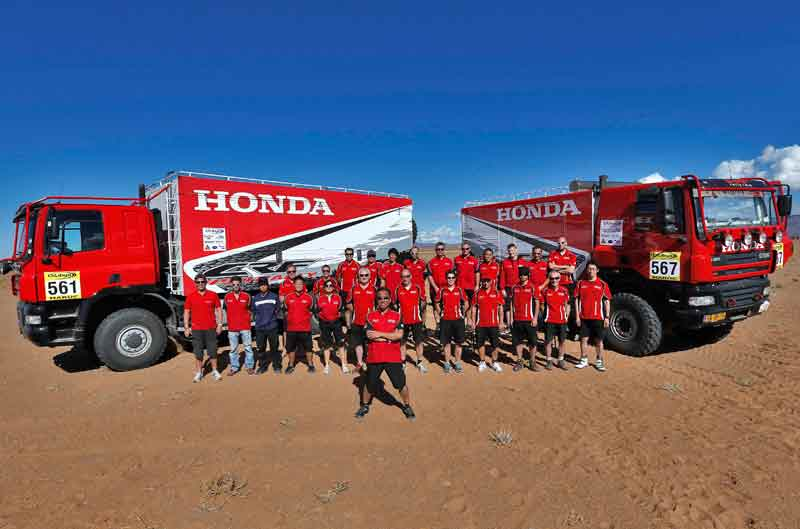 Dakar 2013: Honda pierde a Zanol y Sunderland