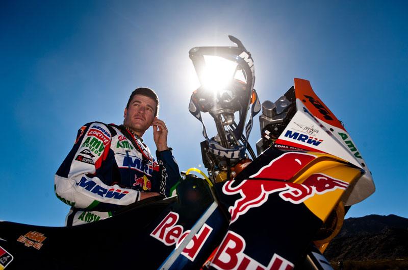 Coma no participará en el Dakar 2013