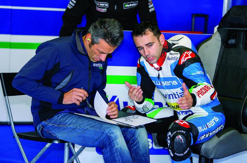 Héctor Barberá: Si fuera malayo estaría subido en una Yamaha o en una Honda