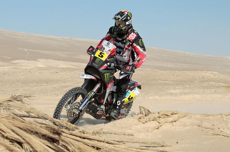 Victoria y liderato para Joan Barreda en el Dakar 2013