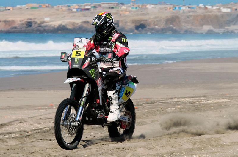 Joan Barreda gana y Olivier Pain se coloca primero en el Dakar