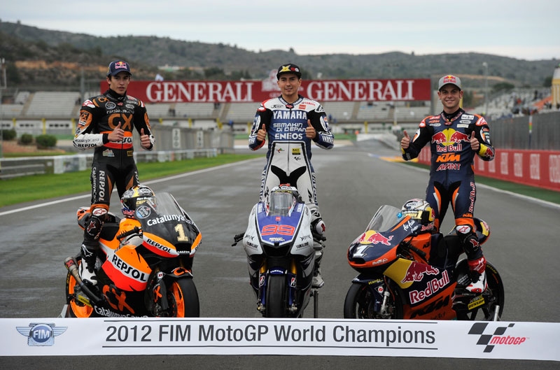 Mundial de MotoGP 2012. Resumen