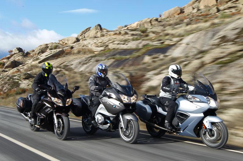 Comparativa Gran Turismo: BMW R 1200 RT, Triumph Trophy 1200 SE y Yamaha FJR1300A