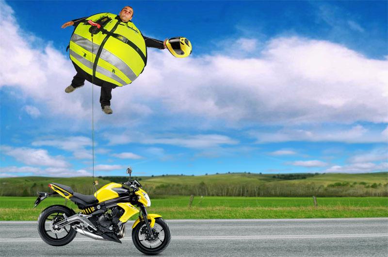 Chalecos y chaquetas con airbag para la moto