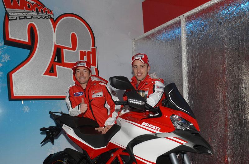 Ducati empieza el año en el Wrooom