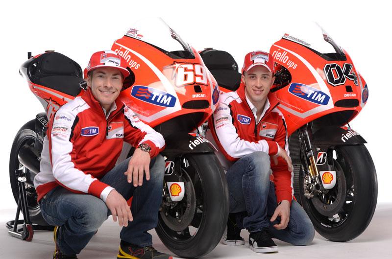 Ducati desvela sus armas de MotoGP en el Wrooom 2013