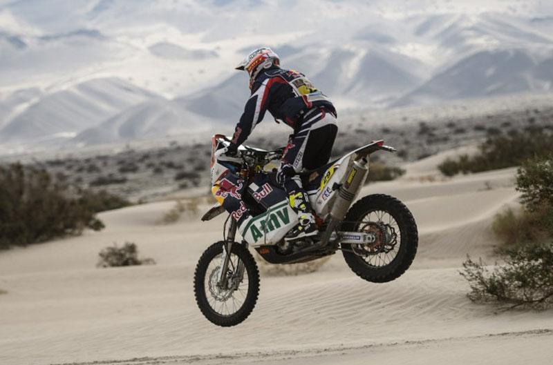 Kurt Caselli gana la etapa 11 del Dakar 2013