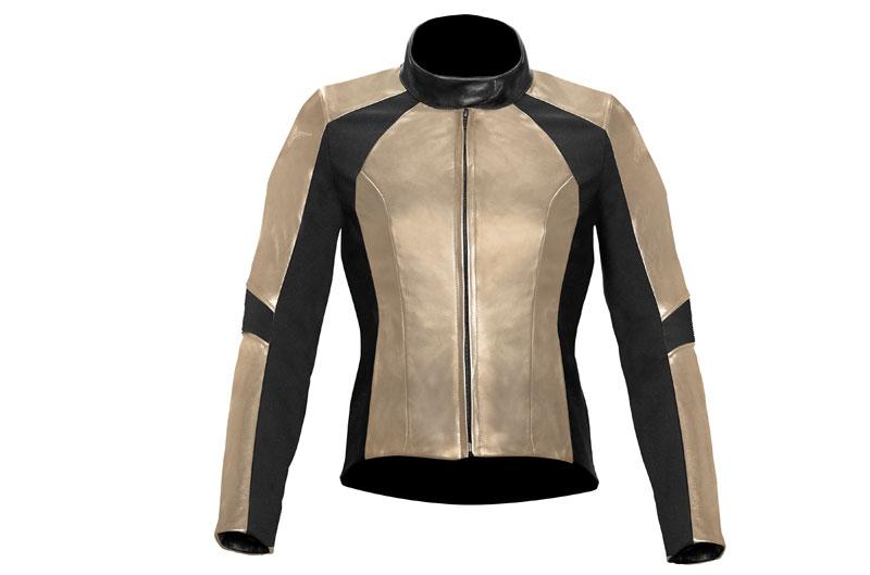 Vika, chaqueta de cuero