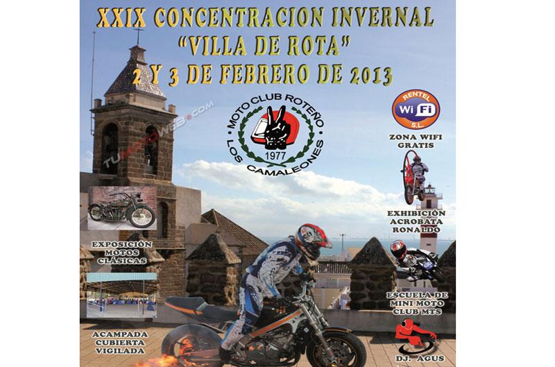 XXIX Concentración invernal Villa de rota