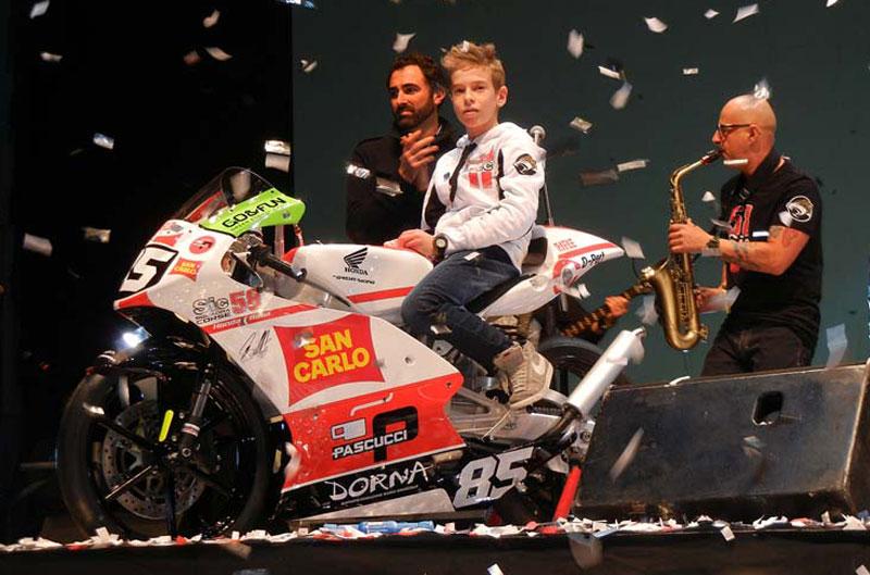 """Paolo Simoncelli y el """"Sic 58 Squadra Corse"""""""