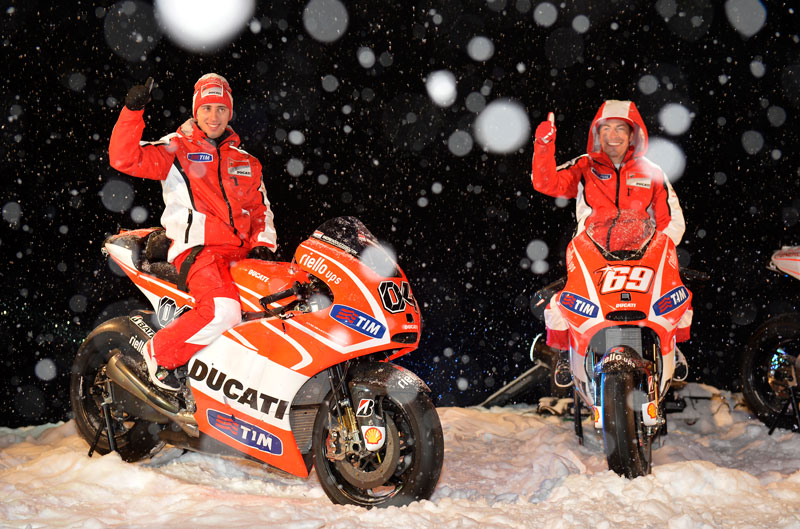 MV Agusta F4 y Wroom Ducati 2013
