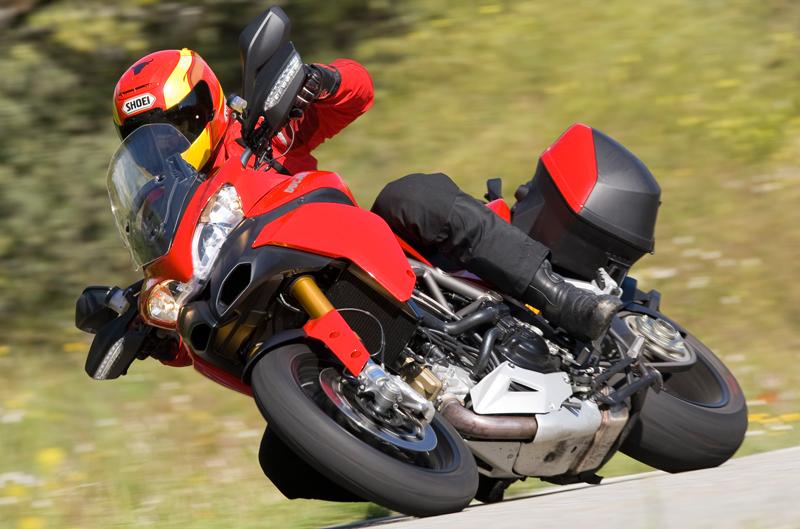 Ducati Multistrada 1200 s Touring. Prueba