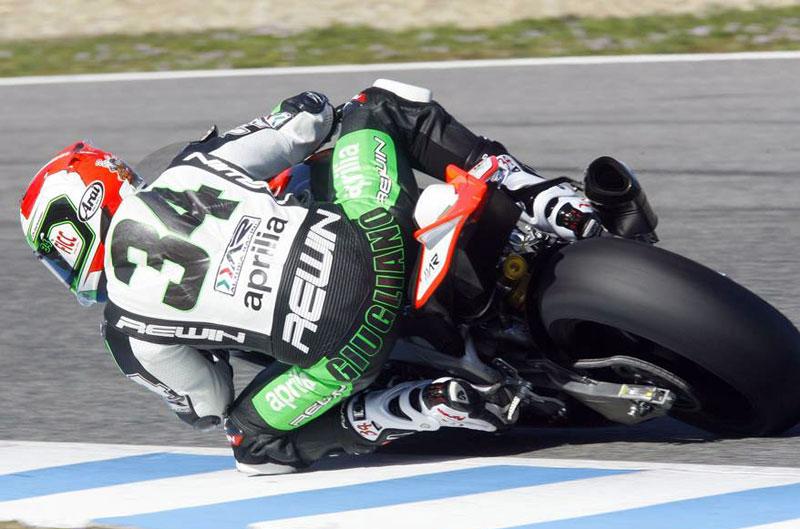La lluvia protagoniza el primer día de test SBK en Jerez
