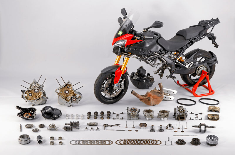 Ducati Multistrada, prueba 50.000 kms