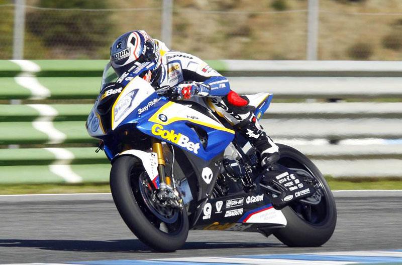 Marco Melandri, el más rápido del test de Jerez