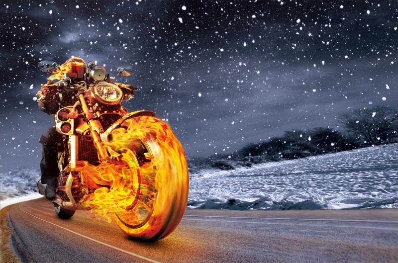Trucos para no pasar frío en moto