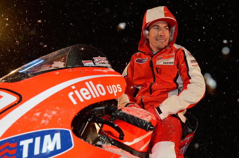 Nicky Hayden: Si no fuera por Rossi no tendríamos un chasis de aluminio
