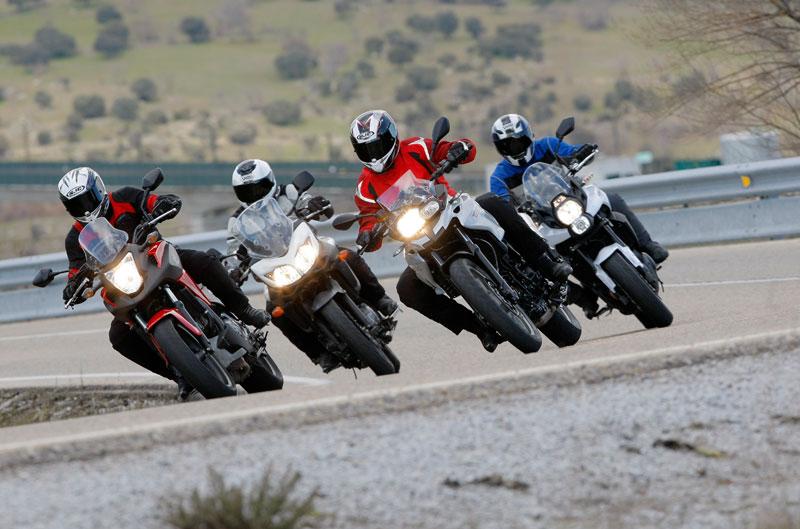 Comparativa Trail: BMW, Honda, Kawasaki y Suzuki