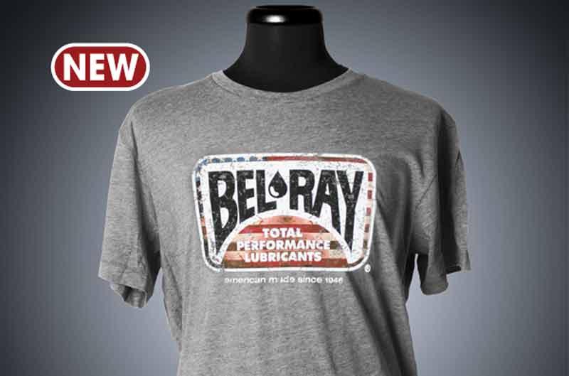 Bel-Ray diseña una camiseta para conmemorar su herencia estadounidense
