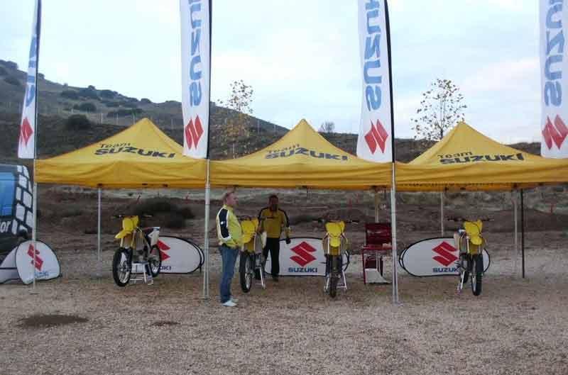 Suzuki Namura Bikes crea un programa de ayuda al motocross
