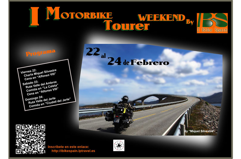I Motorbike Tourer Weekend