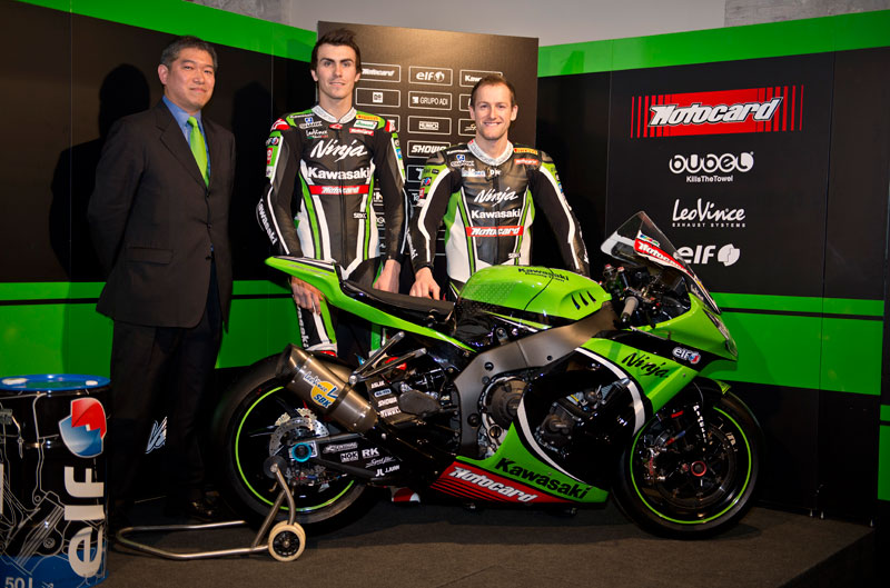 Kawasaki Racing Team de SBK, presentado